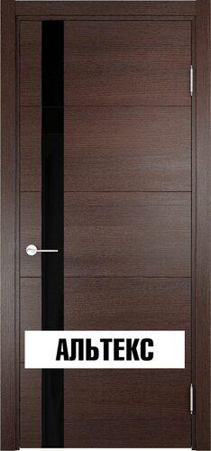 Межкомнатная дверь - Турин 03 Дуб графит вералинга
