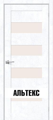 Межкомнатная дверь - Брав-23 Snow Art