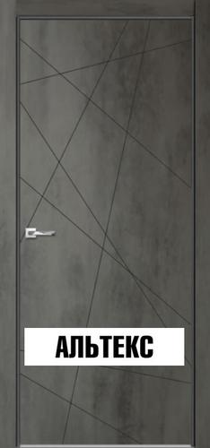 Межкомнатная дверь - Севилья 26 Бетон темный