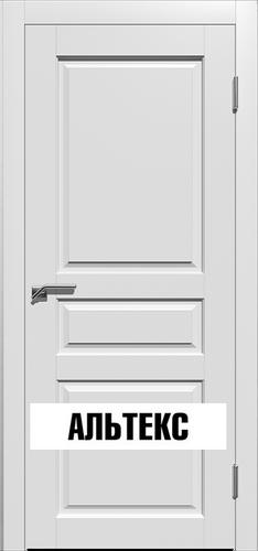 Межкомнатная дверь - Гранд 3 РАЛ 9003