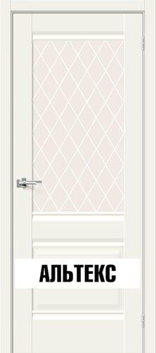 Межкомнатная дверь - Прима-3 White Mix