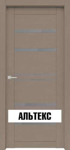 Межкомнатная дверь - Велюкс 1 Ясень латте