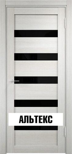 Межкомнатная дверь - Мюнхен 03 ДО (Лакобель) Слоновая кость