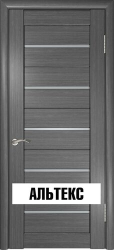 Межкомнатная дверь - Лу-22 Серый