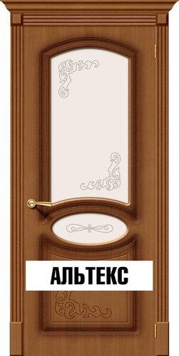 Межкомнатная дверь - Азалия Ф-11 (Орех)