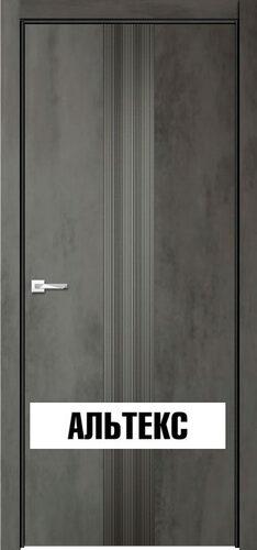 Межкомнатная дверь - Севилья 16 Бетон темный