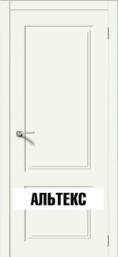 Межкомнатные двери - Квадро 2 РАЛ 9010