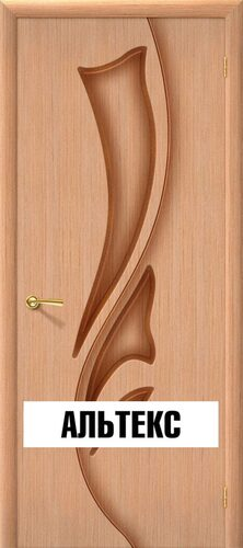 Межкомнатная дверь - Эксклюзив Ф-01 (Дуб)