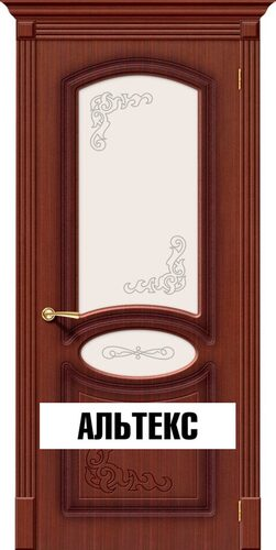 Межкомнатная дверь - Азалия Ф-15 (Макоре)