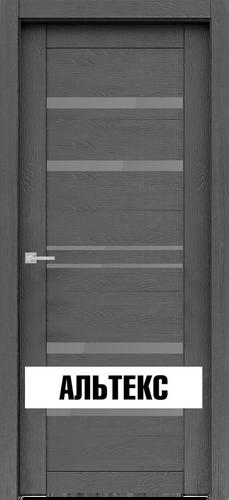 Межкомнатная дверь - Велюкс 1 Ясень грей