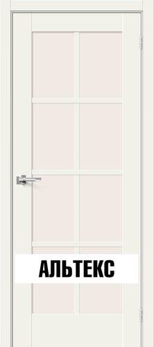 Межкомнатная дверь - Прима-11.1 White Mix