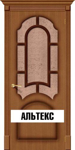 Межкомнатная дверь - Соната Ф-11 (Орех)