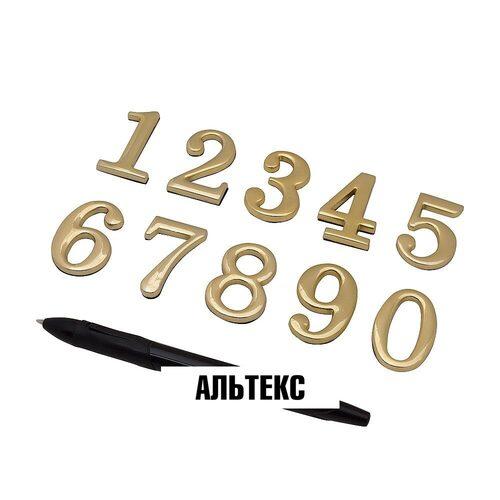 Межкомнатная фурнитура - Цифра G Золото