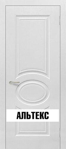 Межкомнатная дверь - Роял 1 глухая Белый