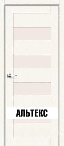 Межкомнатная дверь - Брав-23 White Wood