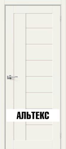 Межкомнатная дверь - Брав-29 White Mix