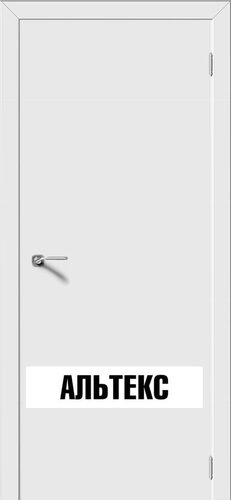 Межкомнатная дверь - Моно Белый