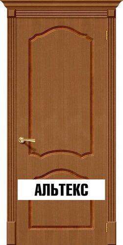 Межкомнатная дверь - Каролина Ф-11 (Орех)