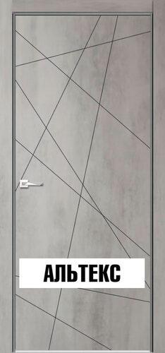 Межкомнатная дверь - Севилья 26 Бетон светлый
