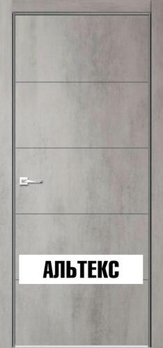 Межкомнатная дверь - Севилья 21 Бетон светлый