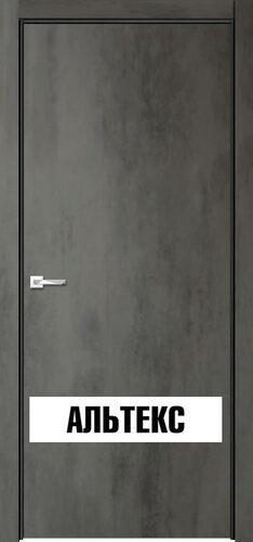 Межкомнатная дверь - Севилья 32 ДПГ Бетон темный