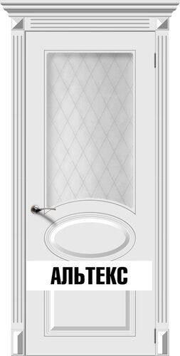 Межкомнатная дверь - Джаз Белый