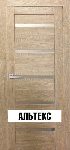 Межкомнатная дверь - Бавария 15 3Д-Люкс Ясень сонома