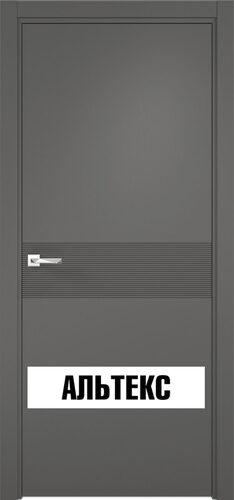 Межкомнатная дверь - Севилья 17 Софт графит