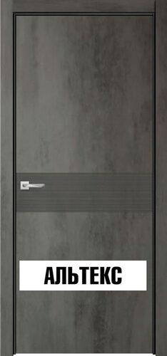 Межкомнатная дверь - Севилья 17 Бетон темный