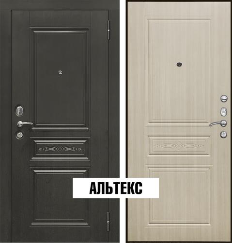 Входная дверь - SD Prof-10 Троя Дуб светлый