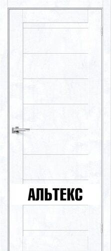 Межкомнатная дверь - Брав-21 Snow Art
