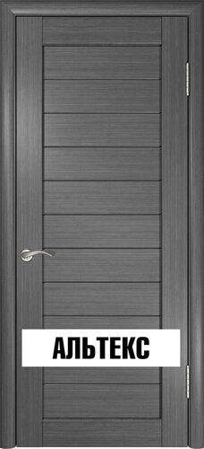 Межкомнатная дверь - Лу-21 Серый