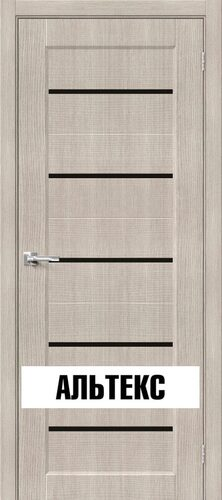 Межкомнатные двери - Мода-22 Black Line Cappuccino