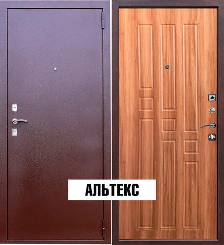 Входная дверь - Гарда 8мм. Дуб рустикальный