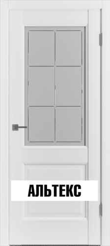 Межкомнатная дверь - Emalex 2 Crystal Cloud C Emalex Ice