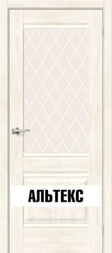 Межкомнатная дверь - Прима-3 Nordic Oak