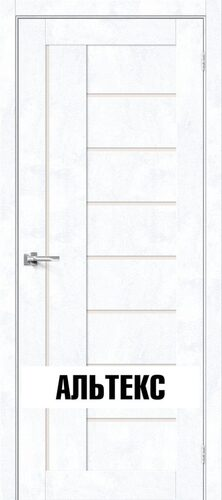 Межкомнатная дверь - Брав-29 Snow Art