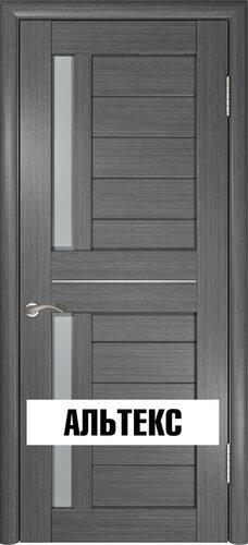 Межкомнатная дверь - Лу-27 Серый