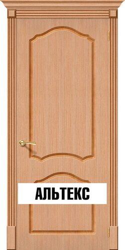 Межкомнатная дверь - Каролина Ф-01 (Дуб)