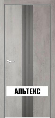 Межкомнатная дверь - Севилья 16 Бетон светлый