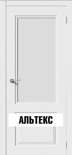 Межкомнатная дверь - Квадро 2 Белый