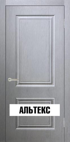 Межкомнатная дверь - Роял 2 глухая Серый