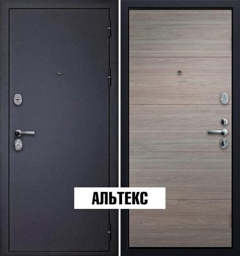 Входные двери - Порошковое покрытие Шагрень черная