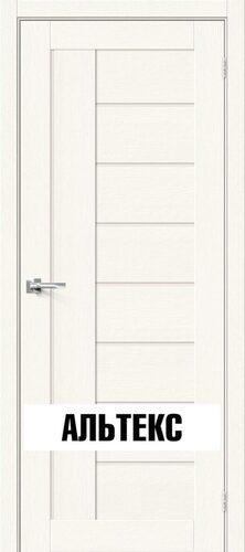Межкомнатная дверь - Брав-29 White Wood