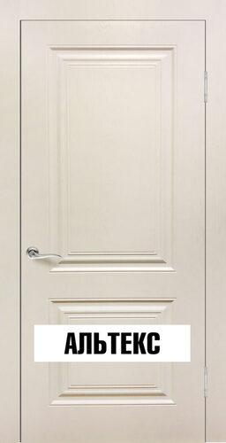Межкомнатная дверь - Роял 2 глухая Шампань
