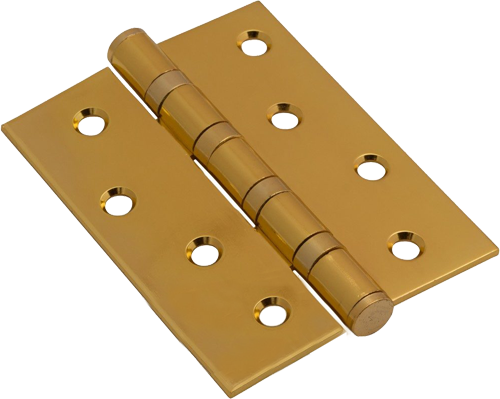 Фурнитура для Модель l-1 Белая эмаль. Петли для межкомнатной двери.