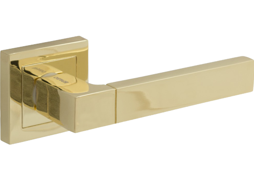 Фурнитура для Евро В-0 Ф-24 (Абрикос). Ручка для межкомнатной двери.